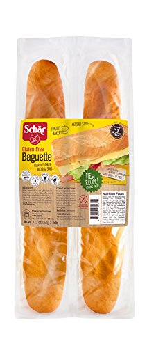 Schar Baquettes Gluten Free, 12.3-Ounces (Pack of 6) ()