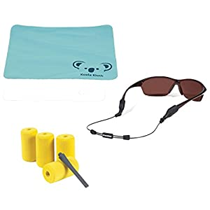 """Croakies Arc Endless Adjustable Eyewear Retainer Wire Sunglass Strap + Floating Kit 