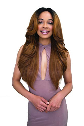 Janet Collection Extended Part Deep Swiss Lace Front Wig - June (Color ()