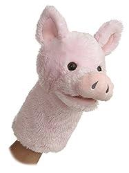 """Aurora World 10"""" Pig Puppet"""