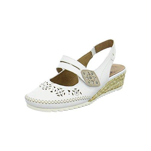 Jana 8-8-29202-28-100 - Zapatos de vestir para mujer blanco