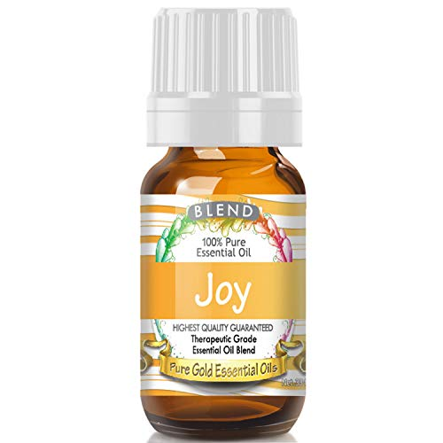 Joy Blend Essential Oil (100% Pure, Natural, UNDILUTED) 10ml - Best Therapeutic Grade - Perfect for Your Aromatherapy Diffuser, Relaxation, More! ()