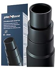 Plemont® dammsugaradapter för vanliga dammsugare - slangadapter för slipmaskin, sticksåg, cirkelsåg, excentrisk slipmaskin - reducerare