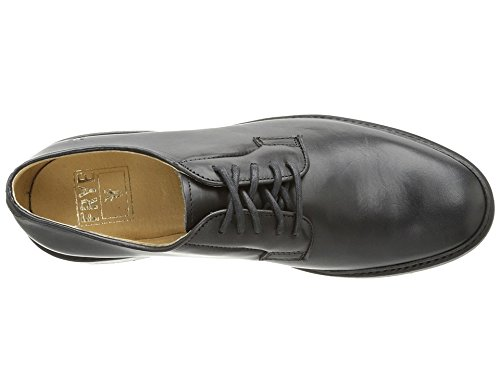 FRYE Women's James Lug Oxford, Black, 8.5 M US