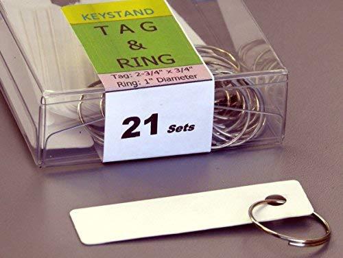 Amazon.com: llave soporte # 18pgs con 18 numeradas gancho ...