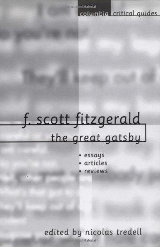 critical essays on f. scott fitzgeralds the great gatsby Up to 90% off textbooks at amazon canada plus, free two-day shipping for six months when you sign up for amazon prime for students.