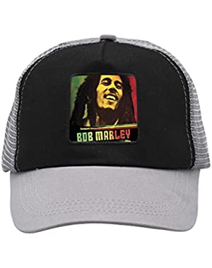 Reggae Legend Bob Unisex Trucker Hat Adjustable Mesh Cap