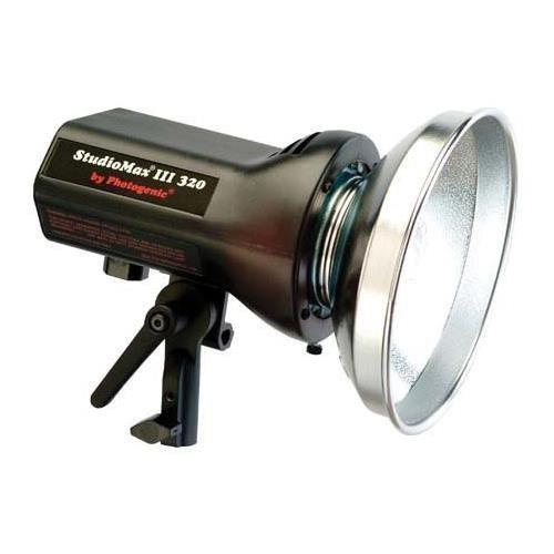Photogenic StudioMax III 320ws Constant Color Monolight with Reflector