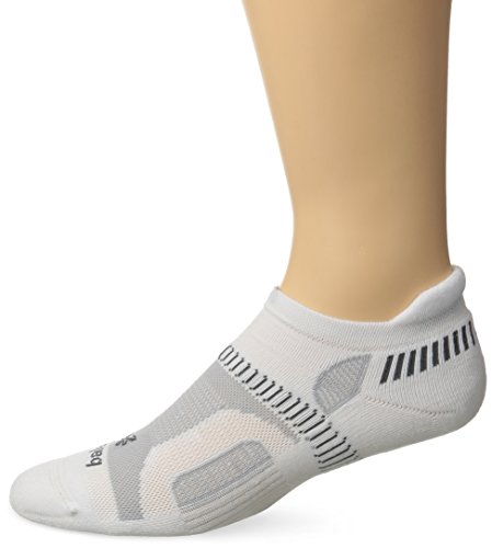 Balega Hidden Contour Socks, White, Small