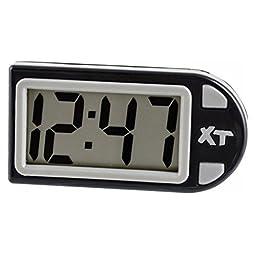 Custom Accessories 25211 Black Plastic Digital Clock