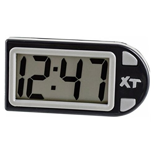(Custom Accessories 25211 Plastic Easel Stand Digital Clock, Black)
