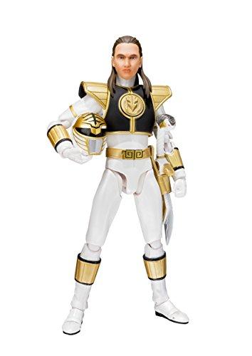 Tamashii Nations S.H. Figuarts Mighty Morphin Power Rangers White Ranger Figure ()