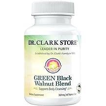 Dr. Hulda Clark Green Black Walnut Blend Vegetarian Supplement, 360mg, 60  capsules