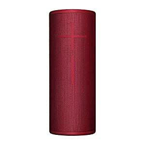 Ultimate Ears MEGABOOM 3 Wireless Bluetooth Speaker (Powerful Sound + Thundering Bass, Bluetooth, Magic Button, Waterproof, Battery 20 hours, Range 45 m) - Sunset Red (984-001406 - Red)