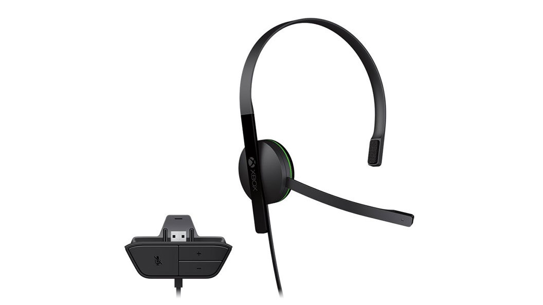 Xbox One Chat Headset (Bulk Packaging) (Expansion Port)