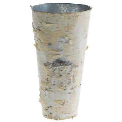 - Accent Birch Vase with Zinc Interior - 9