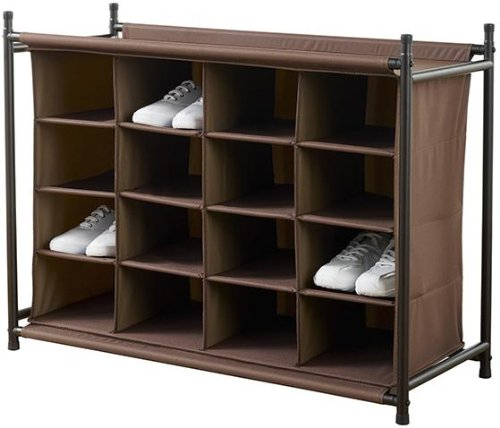 16 compartment Shoe Organizer, 25