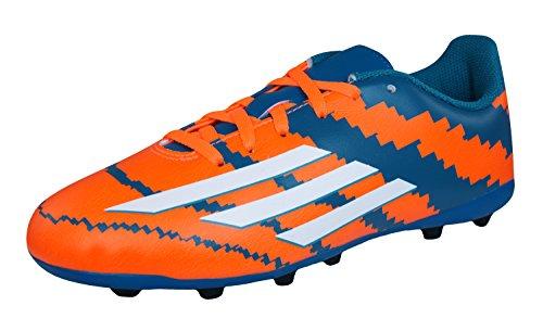 adidas Messi 10.4 Fxg Junior - Botas de fútbol Niños Azul-Blanco-Naranja