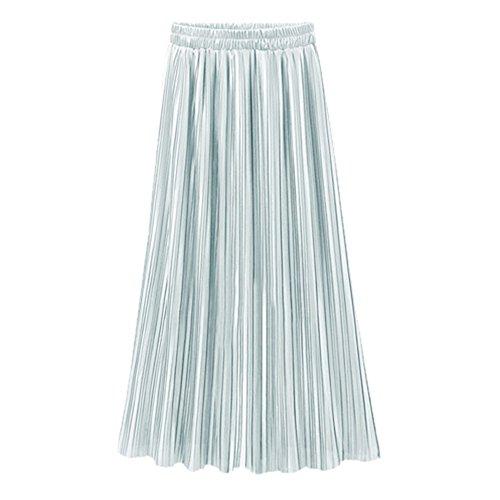 Kingwo Jupe Plisse Quotidienne de la Mode Haute Dcontracte Haute Taille des Femmes Mche