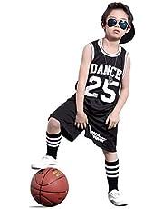 Boys Hip Hop Dance Costume Street Jazz Dance Set Basketball Skateboard Clothing