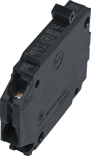 Connecticut Electric General Electric THQP120, 1-Pole 20-Amp Thin Series Circuit Breaker, (Circuit Pole Single Ge Breaker)