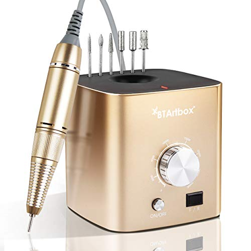 Nail Drill for Acrylic Nails - Professional Nail Drill Machine BTArtbox 30000 rpm Electric Efile Nail Drill for Gel… 1