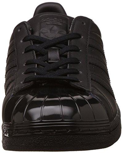 size 40 bc45d 3a4fa adidas Damen Superstar Glossy Toe Basketballschuhe Schwarz  (CblackCblackFtwwht) ...