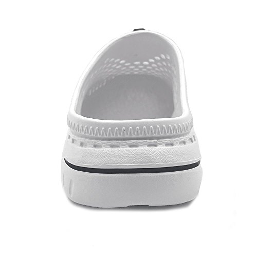 Sandals Garden Shoes Amoji Unisex Clogs Slippers White 6wInqP5x