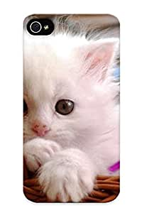 Cute High Quality Iphone 4/4s Baby Cat Case Provided By Throbbing