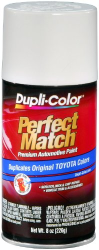 Match Natural - Dupli-Color EBTY16077 Natural White Toyota Exact-Match Automotive Paint - 8 oz. Aerosol