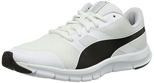 Puma puma White Black Zapatillas Adulto Flexracer Unisex Puma Blanco 21 nSrZvHnOq