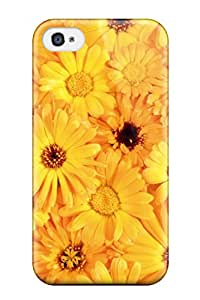 Everett L. Carrasquillo's Shop 1821890K97878268 Durable Yellow Flowers Back Case/cover For Iphone 4/4s