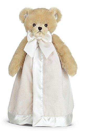 Bearington Baby Lil' Teddy Snuggler, Teddy Bear Plush Stuffed Animal Security Blanket, Lovey (Bear Security Blanket Plush)