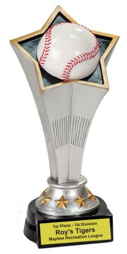 Rising Star Baseball Awards - Personalized 8 3/4