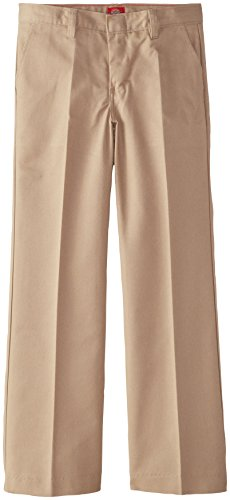 Dickies Big Girls' Flat Front Pant