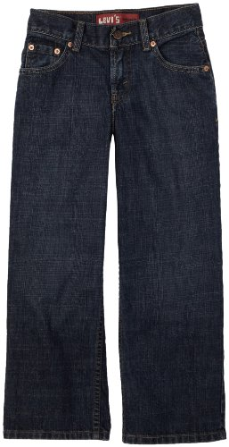 Levi's Boys 8-20 550 Relaxed Fit Jean , DK CROSSHATCH, 12 (550 Relaxed Tapered Leg)