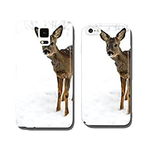 Roebuck in winter cell phone cover case Samsung S6