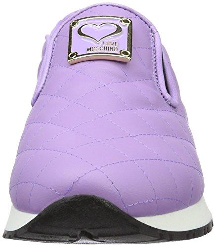 Amore Moschino Damen Pumps Violett (viola 651)