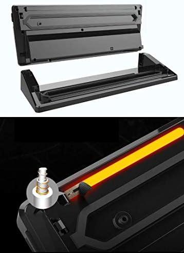 KOQIO Vacuüm Sealer Machine, Nat en Droog Huishoudelijke One-Touch Automatische Verpakkingsmachine voor het verlengen van de versheid van voedsel, Keuken Bewaarmachine