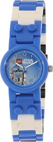 LEGO Kids' 8020318 Star Wars R2D2 Plastic Watch With Minifigure