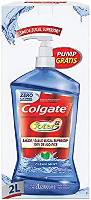 Enxaguante Bucal Colgate Total 12 Clean Mint 2000ml