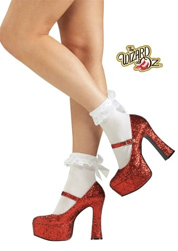 Sexy Dorothy Shoes - Ruby Red - Medium