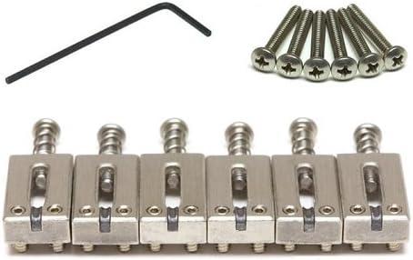 "B0002DUW26 Graph Tech String Saver Classics Strat & Tele 2-1/16"" Spacing Brushed Steel 414KC66DysL."