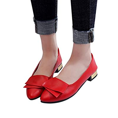 Office Shoes,Hot Sale!AgrinTol Women Summer Pumps Wedding Office Pointed Shoes