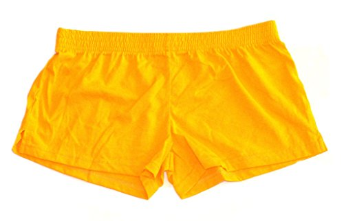 Reebok Athletic Shorts Yellow (Small) (Infant Cheerleader Nfl Outfit)