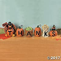Give Thanks Blocks - Accesorios Decorativos