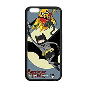 Unique Design Adventure Time Batman Case Durable Fashion Hard Case Cover Skin for Iphone 6 Plus with 5.5 by Maris's Diary