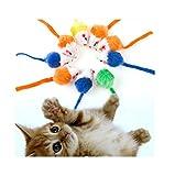 HOT Sale! 2017 10Pcs lot Cat's Toys Creative False Mouse Pet Cat Toys Cheap Mini Funny Playing Toys For Cats Kitten
