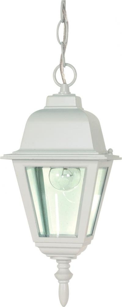 Nuvo Lighting 60//488 Old Hanging Lantern with Clear Glass Old Bronze