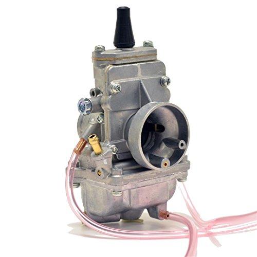Genuine Real Mikuni 24mm Flat Slide High Performance Carburetor Carb TM24-8001 by Niche Cycle Supply
